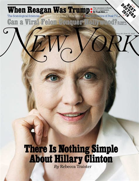 Hillary Clinton Cover by New York S Hillary Clinton Cover Throwback New York