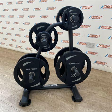 olympic weight plates set kg  storage rack