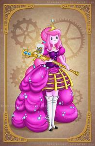 Steampunk Princess Bubblegum by NikkiWardArt on DeviantArt