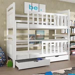 Barriere Lit Superposé : lit superpos seb personnalisable 8 couleurs www ~ Premium-room.com Idées de Décoration