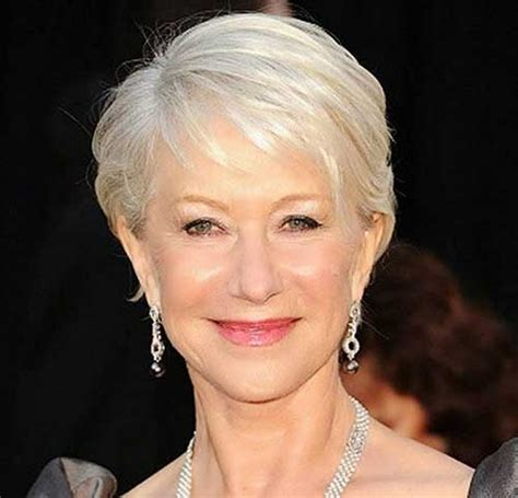 short hairstyles for women over 50 with fine hair fave