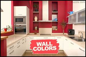 the pristine look decor ideas for a kitchen with white With kitchen colors with white cabinets with how to make your own wall art