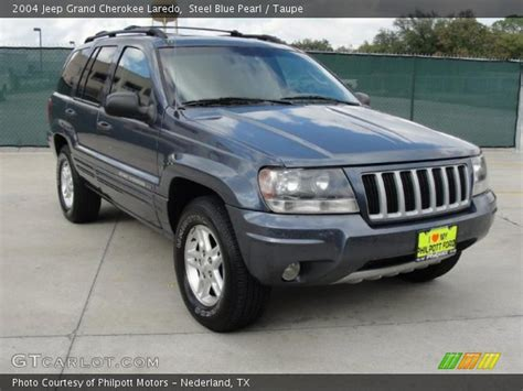 blue jeep grand cherokee 2004 steel blue pearl 2004 jeep grand cherokee laredo taupe