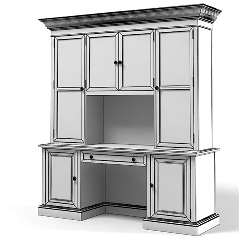 Cupboard Models For by Display Cabinet Cupboard 3d Model
