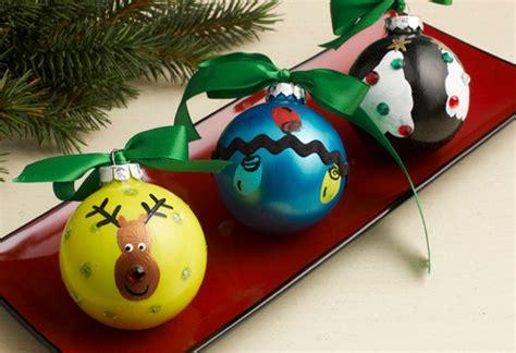 fingerprint homemade christmas ornaments