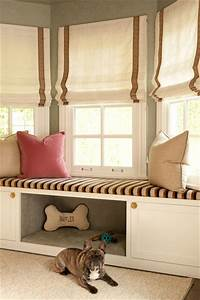 Built In Dog Bed - Transitional - bedroom - Jenn Feldman