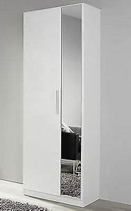 Flurschrank Mit Spiegel : garderobenschrank minosa flur kleiderschrank in wei ~ Watch28wear.com Haus und Dekorationen
