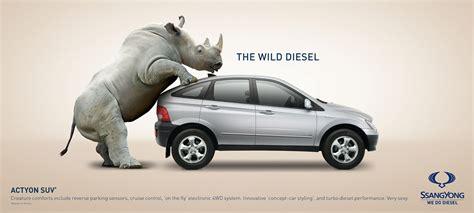 stunningly creative car ads favbulous