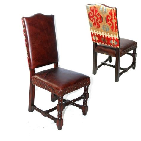 1000 images about rustic chic dining chairs leather