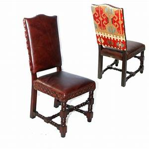 1000 images about rustic chic dining chairs leather With rustic leather dining room chairs