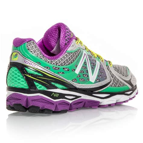 New Balance 1080v3  Womens Running Shoes  Greenpurplesilver Online Sportitude