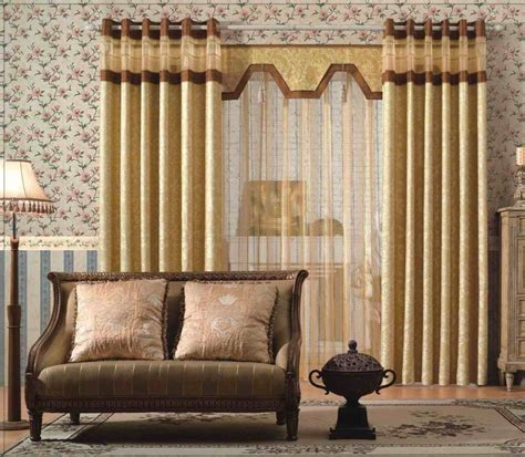 valance bay window design of curtains for living room popular