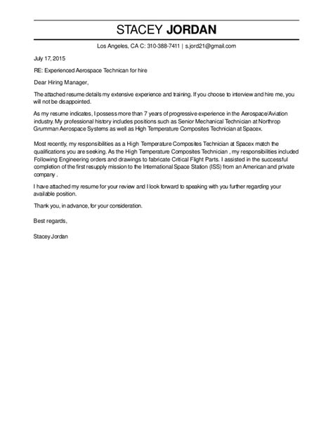 Aerospace Resume Cover Letter by Stacey Cover Letter 1