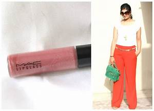MAC Viva Glam VI Lipglass Review, Swatch, Outfit