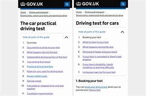 Making Driving Test Information Better On Gov Uk