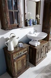 Badezimmer Retro Look : badezimmer spiegel ocean landhaus vintage ~ Orissabook.com Haus und Dekorationen