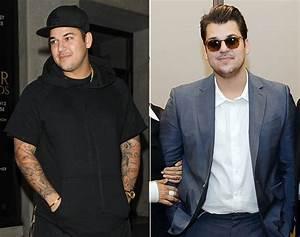 Rob, Kardashian, Flaunts, Weight, Loss, At, Las, Vegas, Sock, Line