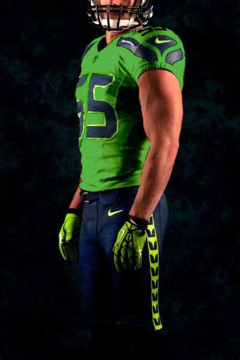 emerald city sports future seahawks green uniforms