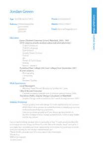 new design of resume cv design sle in ms word format 2017 pakistan