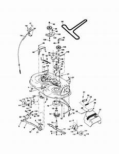 Mower Deck Diagram  U0026 Parts List For Model 917275810
