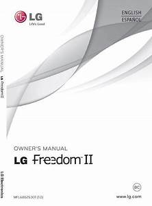U S  Cellular Lg Freedom 2 Un280 User Manual    Guide