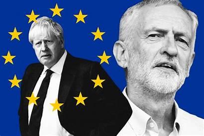 Corbyn Jeremy Brexit Johnson Boris Deal Minister