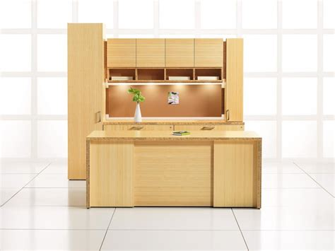 desk with lots of storage new office desks new bamboo l desk lots of storage at
