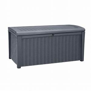 vidaxlcouk keter borneo outdoor storage box 17197731 With katzennetz balkon mit garden storage box