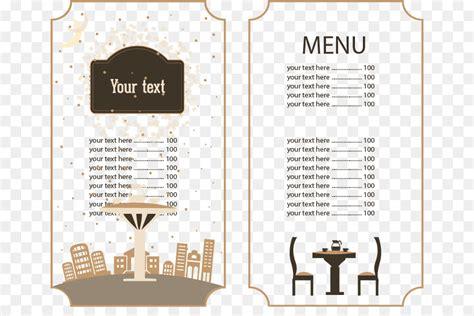 cafe menu brunch restaurant food continental restaurant