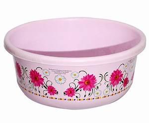 Kuber, Industries, Unbreakable, Plastic, Multipurpose, Bath, Tub, Washing, Tub, 40, Ltr, Pink
