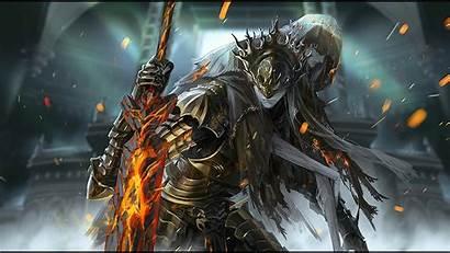 Souls Dark Boss Lothric Lorian Artwork Wallpapers