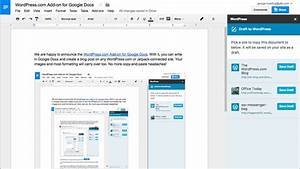 wordpresscom now supports collaborative editing through With google docs word plugin