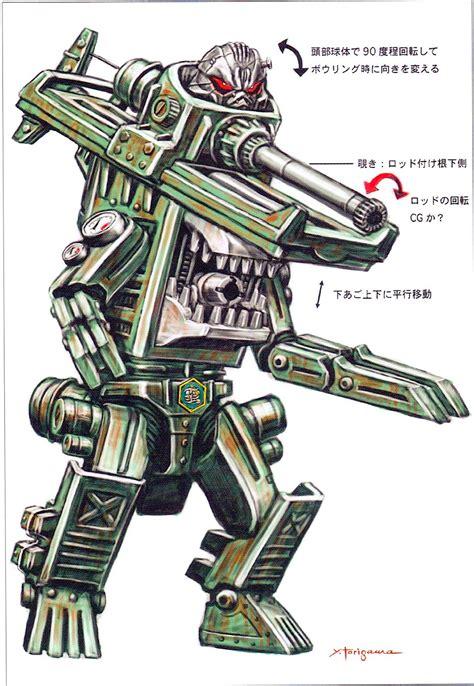 炎神战队轰音者:蛮机族害恶客的设计原型—02 - 哔哩哔哩