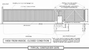 Cantilever Gate System