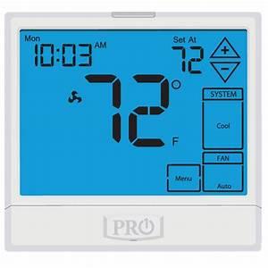 3 Heat    2 Cool Programmable Pro1 Iaq Touchscreen