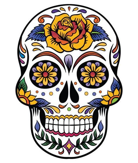top 60 des plus belles t 234 tes de mort mexicaines id 233 es tatouage en 2019