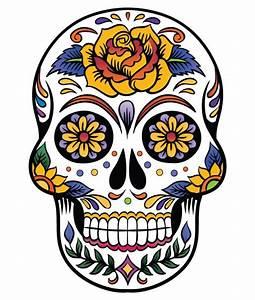 Tete De Mort Mexicaine Dessin : top 60 des plus belles t tes de mort mexicaines id es ~ Melissatoandfro.com Idées de Décoration