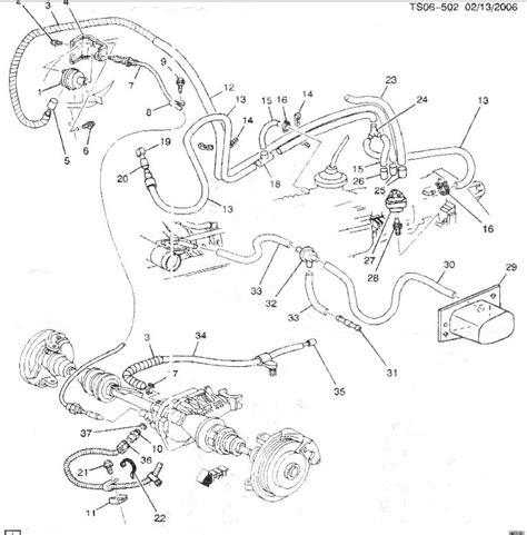 Transfer Case Vacuum Line Route Blazer Forum Chevy