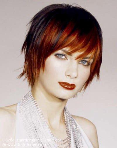 grande rote haare kurzhaarfrisur rote haare trendige kurzhaarfrisuren