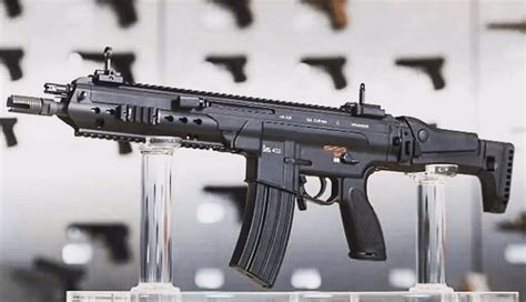 heckler koch unveils  modular rifle hk