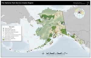 Alaska National Parks Map