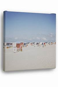 Strandbilder Auf Leinwand : leinwandbild strandk rbe strandbilder strandklassiker strand und k ste deko ~ Watch28wear.com Haus und Dekorationen
