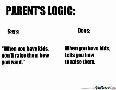 Logic Parent Parents Meme