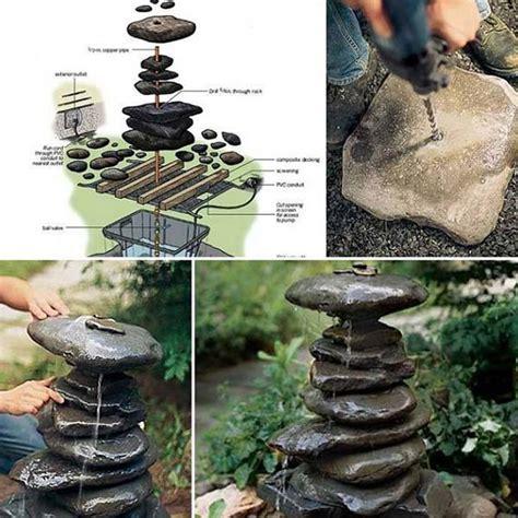 build a water feature 19 handmade cheap garden decor ideas to upgrade garden