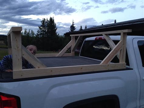 how to build a kayak rack for truck diy truck rack part 2 birch tree farms