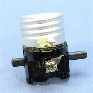 Cooper Push Thru Switch Light Socket Core Electrolier Lamp