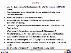 Restaurant Customer Satisfaction Survey using Sterizon ...