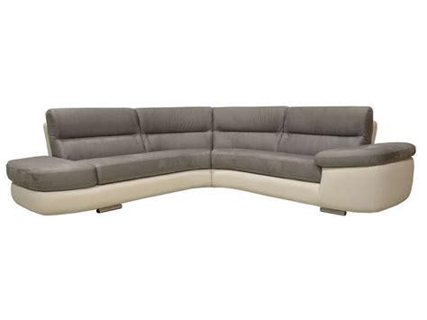 canape alban canapé d 39 angle fixe gauche 4 places alban coloris gris