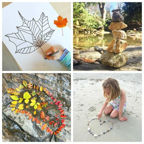 nature for 33 nature activities to try 685 | Nature Art for Kids 33 Nature Art Activities for Children