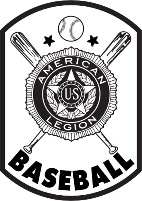 american legion baseball logo vector   eps